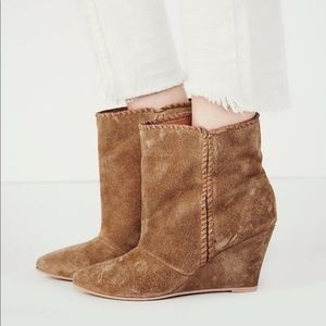Free People x Charles David Wedge Boot
